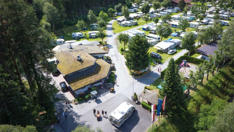 Camping Ötztal in Längenfeld, © Camping Ötztal