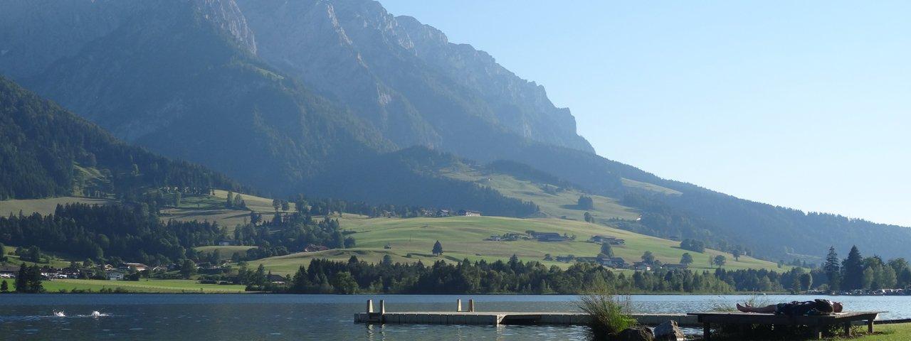Walchsee in the Kaiserwinkl region