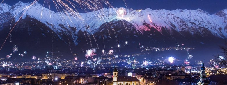 A magical and memorable moment. Spending New Year's Eve in the Capital of the Alps is really special. © TVB Innsbruck