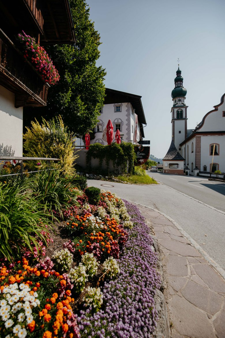 The valley is full of picture-perfect scenery such as here in Oberau.