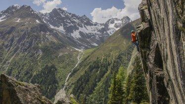 Hexenkessel climbing area near Plangeross, © TVB Pitztal