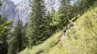 Crossing the Karwendel Mountains, © Tirol Werbung/Dominik Gigler