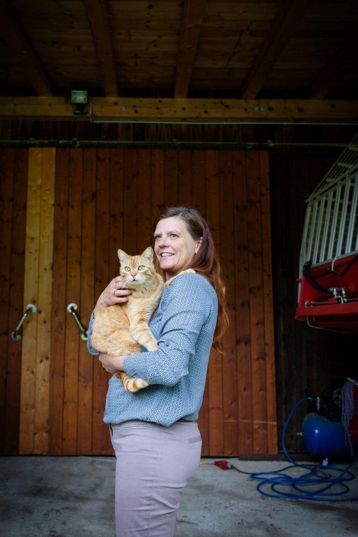 Hany Plattner-Dvorak enjoys sharing her knowledge with guests. , © Hörterer Lisa