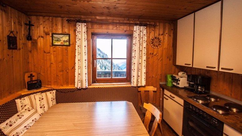 Kitchen, Almhütte Hoanza, © Huetten.com