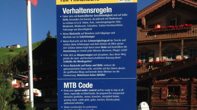 Code of Conduct, © TVB Silberregion Karwendel