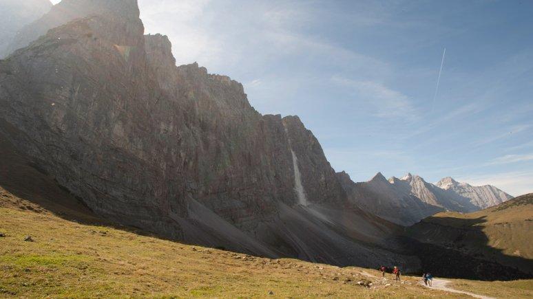 Laliderer Walls at Karwendel Alpine Park, © Tirol Werbung/Peter Umfahrer