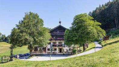 Berggasthof Hinterduxerhof Kufstein Sommeransicht