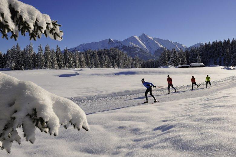 Cross Country Skiing in Seefeld (c) Tirol Werbung