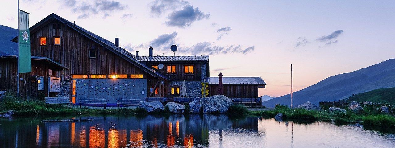 Lizumer Hütte, © Alpenvereinssektion Hall in Tirol