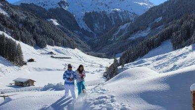 Winter bei der Ursteinhütte Kelchsau Kitzbuhl Alps