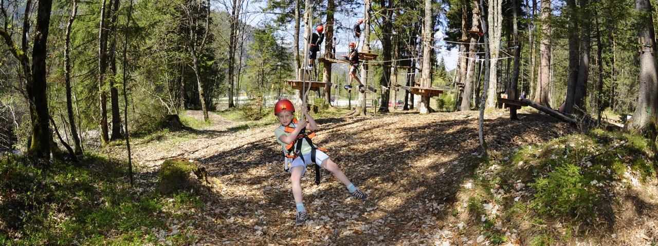 Achensee Adventure Park in Achenkirch, © Robert Brunnegger