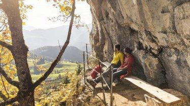 "Looking towards the ""Teufelsgasse"" near Kirchdorf in Tirol, © Kitzbüheler Alpen Marketing/Sportalpen"