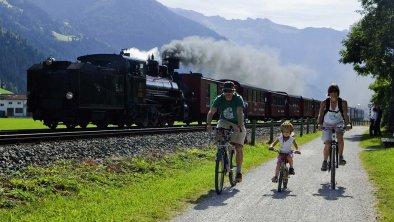 Radtour für die ganze Familie © Zillertal Tourismu