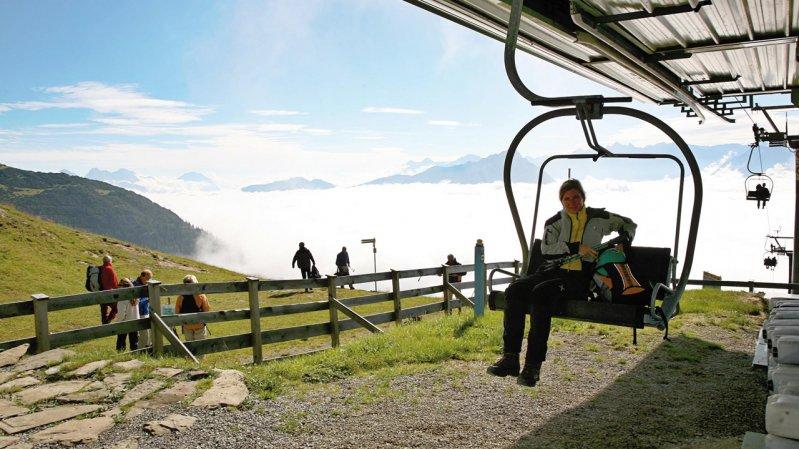 Untermarkter Alm & Alpjoch chairlift, © Imster Bergbahnen
