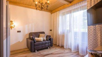 Goldenes Schlafzimmer Appartment Viktoria