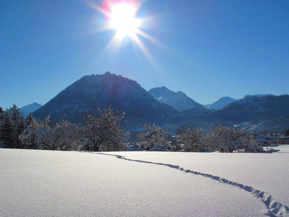 Winter in the Reutte Nature Park Region, © Naturparkregion Reutte