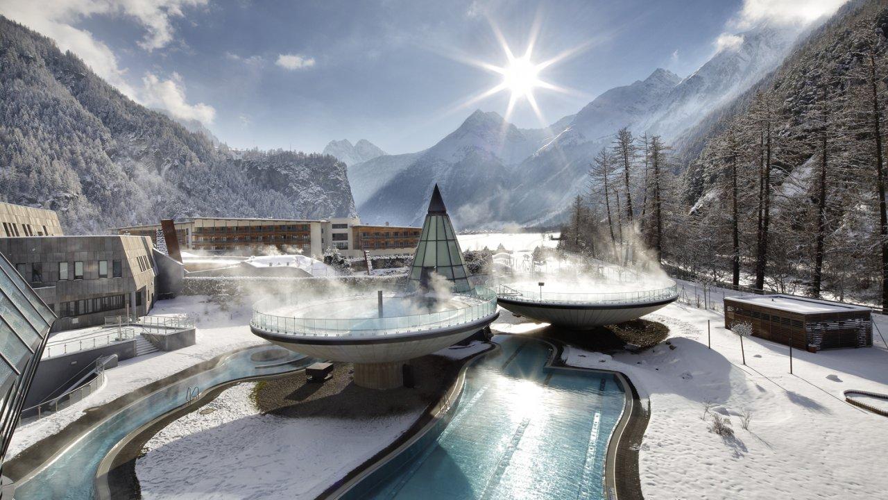 The Aqua Dome in winter, © Aqua Dome