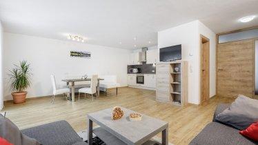 Wohnraum/ Küche/ Essbereich, © Rudi Wyhlidal