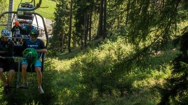 Two-man Mutzkopf cable car in Nauders, © Tirol Werbung/Erwin Haiden