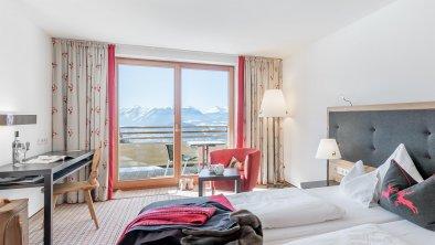 Doppelzimmer Weitsicht Deluxe mit Panoramablick