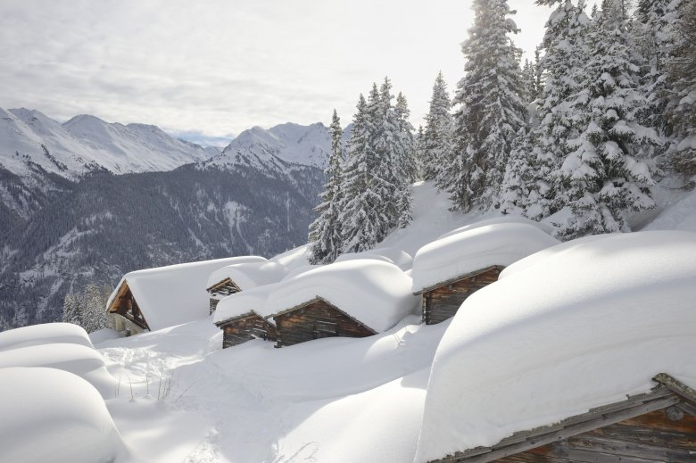 You can build houses – well, igloos – out of snow.