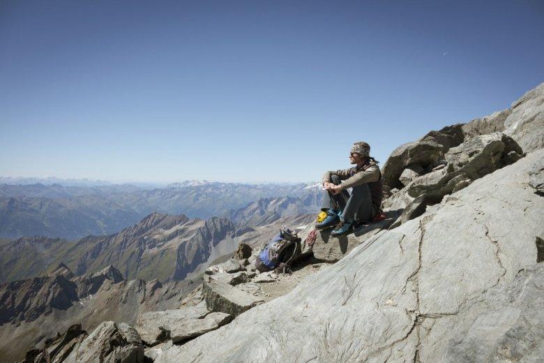 Bergfuehrer_Matthias Wurzer_Gipfel Großglockner (c) Tirol Werbung_Jens Schwarz