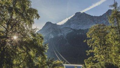 Resort am Fuße der Zugspitze, © Eva trifft.