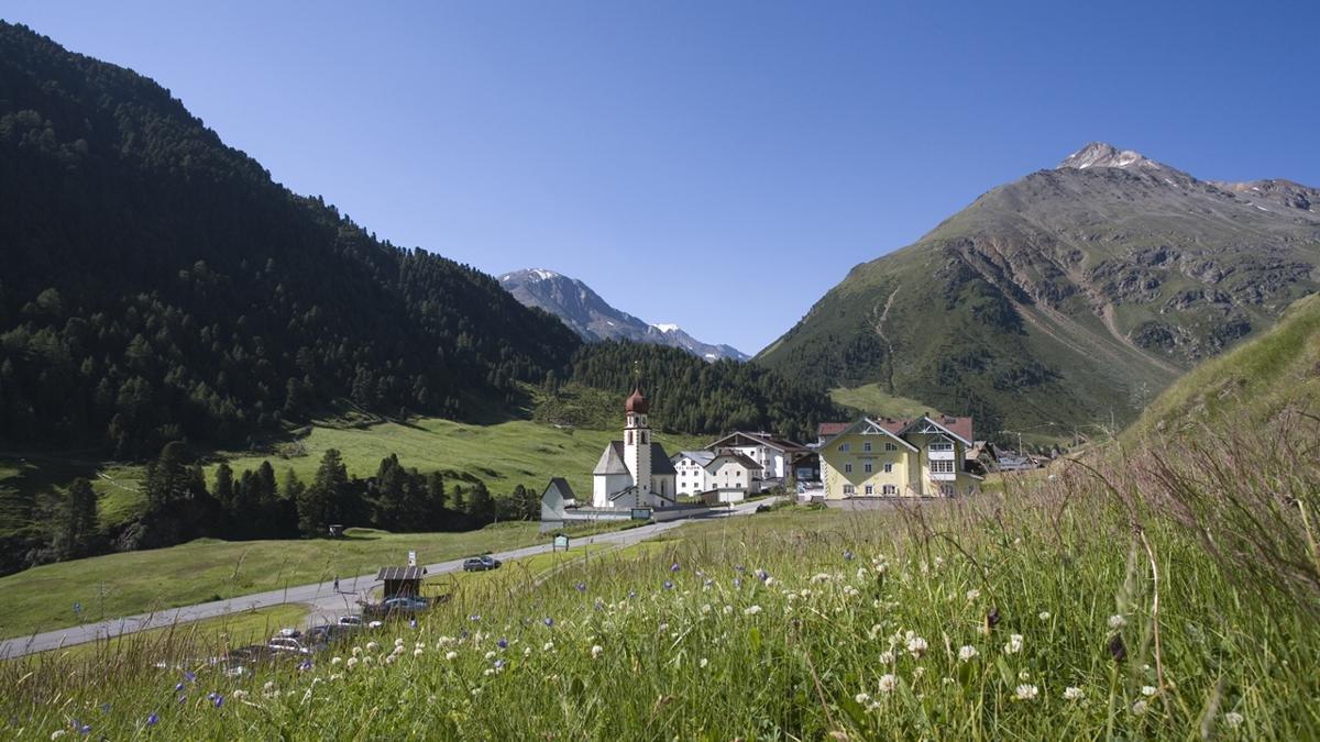 Mountain village of Vent, © Ötztal Tourismus/Bernd Ritschel