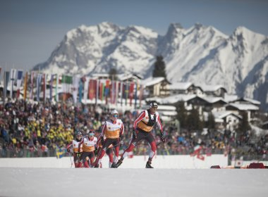 First day of competition at the FIS Nordic World Ski Championships 2019 in Seefeld.