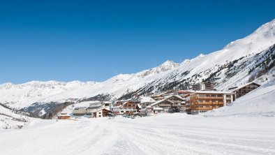 Ortsansicht Obergurgl, © Haus Alpenblick, Fam. Scheiber