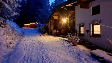 Hauseingang Winter 2021