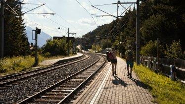 Travelling to Tirol by train, © Tirol Werbung / Robert Pupeter