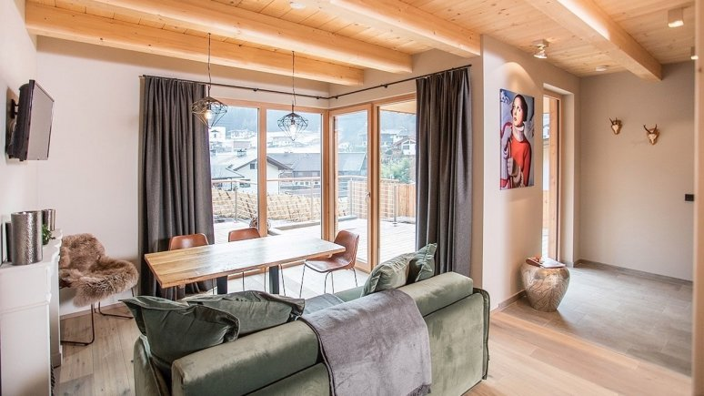 Living room in the alpegg Chalets, © alpegg Chalets