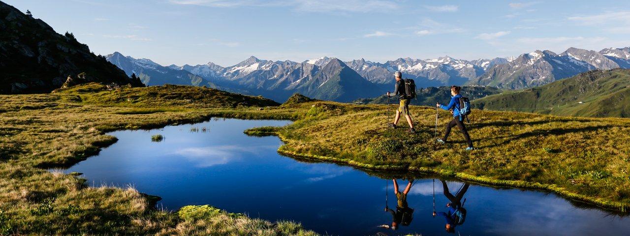 En route to the Rastkogel mountain, © Dominic Ebenbichler