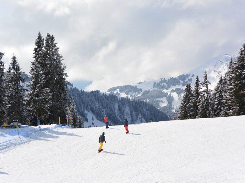 Skiing at the SkiWelt Wilder Kaiser Brixental ski area