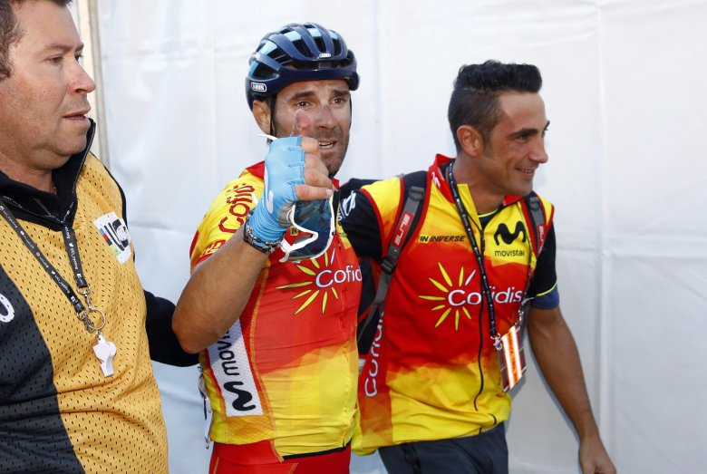 The veteran finally made the top step of the podium: The 38-year-old Spaniard was crowned World Road Race Champion on Sunday.