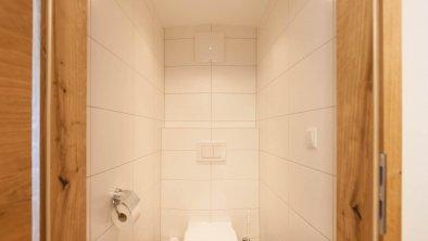 Seperates WC der kleinen Hof-Suite