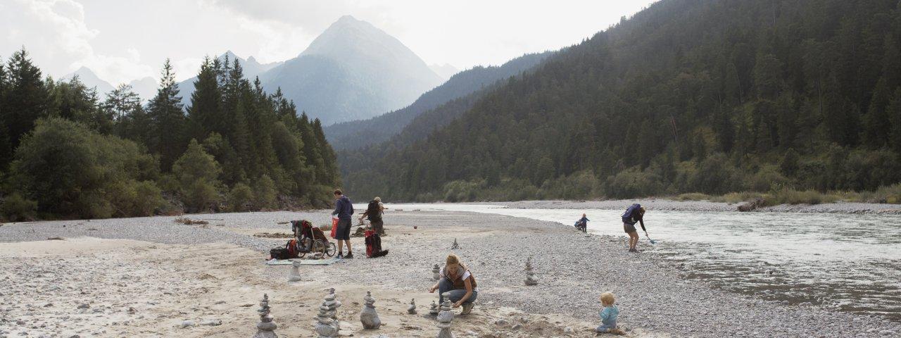 Lech River Banks at Forchach, © Tirol Werbung/Verena Kathrein