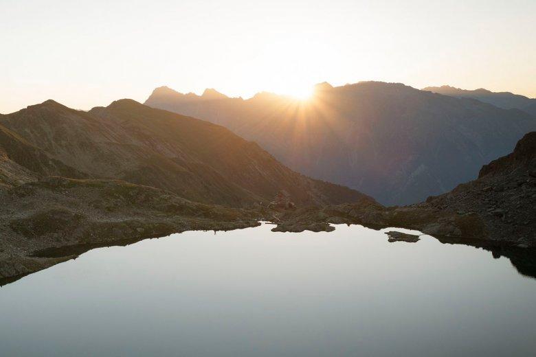 Erlanger Hut on the shores of Wettersee Lake. , © Tirol Werbung / Jens Schwarz