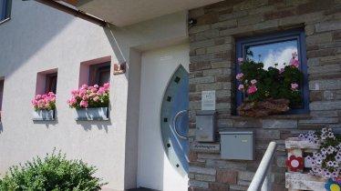Ferienwohnung Haus Gaber, Eingang