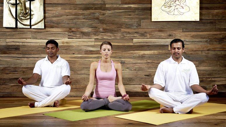 Yoga at Ayurveda Resort Sonnhof, © Ayurveda Resort Sonnhof