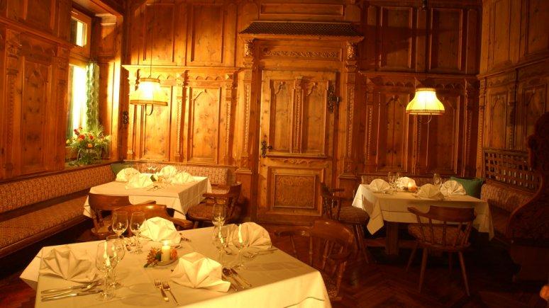 Restaurant at the Drei Mohren Hotel