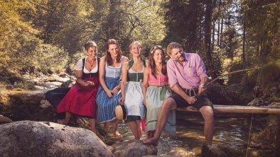 Ihre Gastgeber - Familie Anker, © Isabella Anker