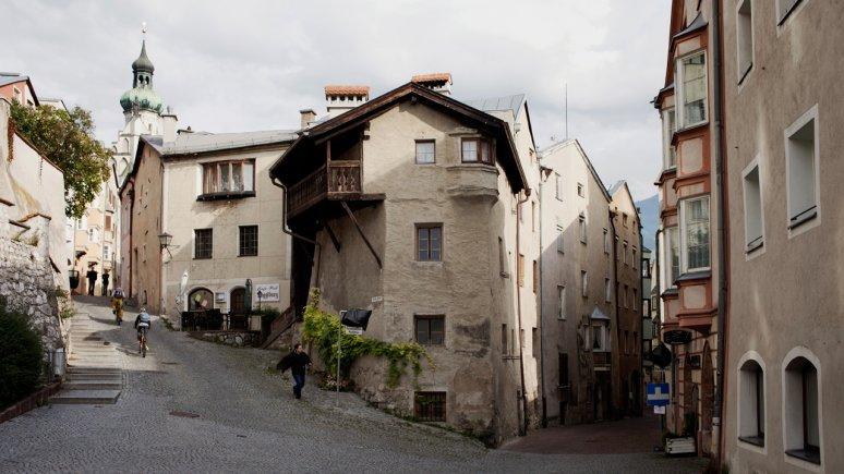 The medieval oldtown of Hall in Tirol, © Verena Kathrein