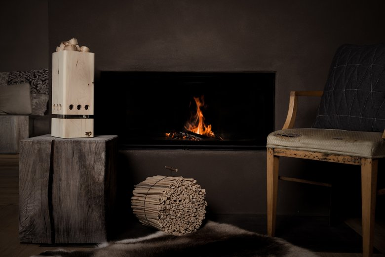 The zirb ventilation system reinterprets the rustic Arolla pine with a more urban environment in mind. ©zirb/Jenny Haimerl