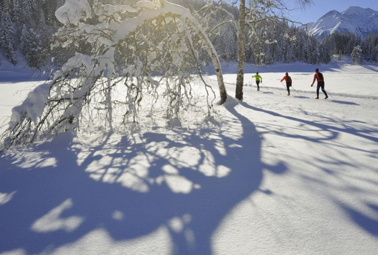 Cross country skiing near Seefeld. (Photo: Tirol Werbung, Josef Mallaun)