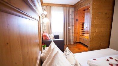 Brixnerhof Zimmer mit Infrarotkabine