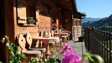 Sonnenterrasse der Café Bar Marende