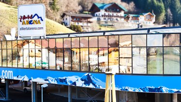 Bottom station of the Rosenalmbahn cable car, © Zillertal Arena