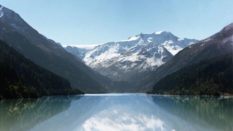 Gepatschstausee reservoir, © Tirol Werbung/Tobias Madörin